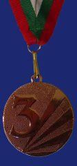 Медал M1042-3 бронз